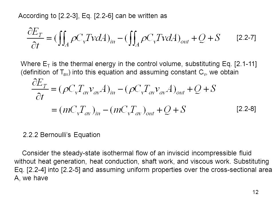 According to [2.2-3], Eq. [2.2-6] can be written as